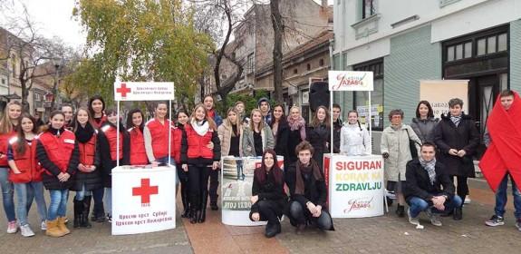 Obeležen 1. decembar Svetski dan borbe protiv side u Požarevcu