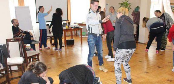 Obuka о korišćenju teatarskih tehnika u radu sa mladima