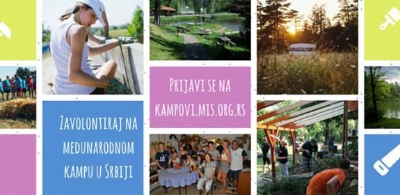 Počelo prijavljivanje na 35 međunarodnih volonterskih kampova u Srbiji