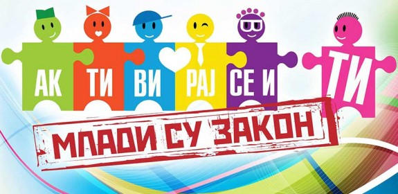 Raspisan konkurs za omladinske volonterske projekte u okviru programa MLADI SU ZAKON