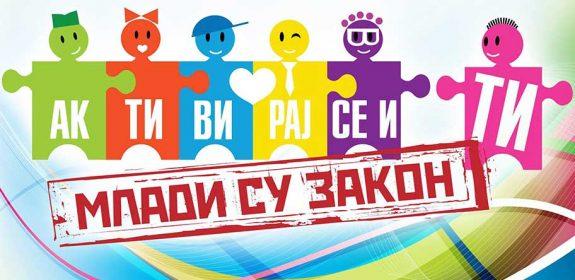 Konkurs za omladinske volonterske projekte – MLADI SU ZAKON