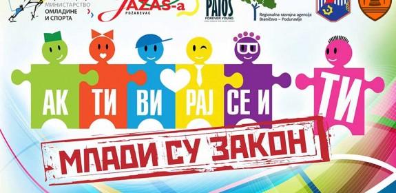 Rezultati konkursa Mladi su zakon – Braničevski i Podunavski okrug za Omladinske Volonterske Projekte